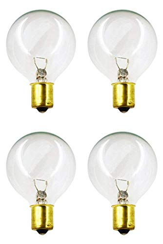 CEC Industries #20-99C Bulbs, 12 V, 13 W, G-16.5 shape (4-pack)