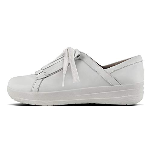 De Lace F Urban Cordones Ii Fitflop Para sporty Tm Zapatos Fringe Up Derby White Mujer wIS8Tq