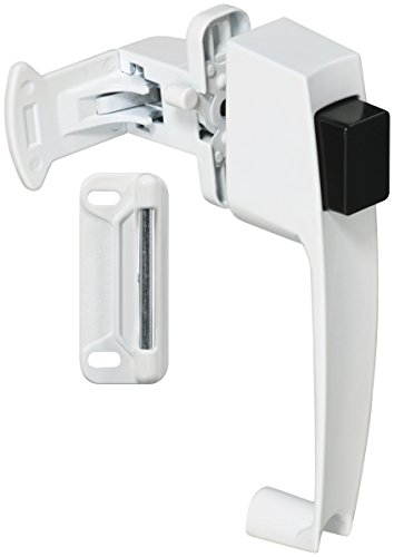 Stanley Hardware S810-382 CD1704 Pushbutton Latch in White Coated by Stanley Hardware