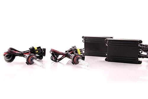 DDM Tuning 55W AC HID Conversion Slim Kit, Slim Digital Ballasts, 9006, 3000K ()