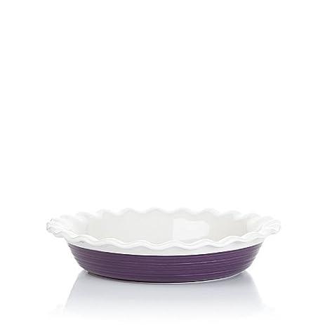 Corningware Etch Pie Plate 9.5u0026quot; Perfect Purple  sc 1 st  Amazon.com & Amazon.com: Corningware Etch Pie Plate 9.5
