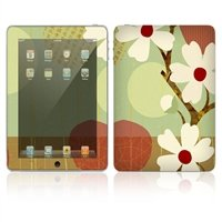 DecalSkin Apple iPad Skin - Asian Flower, Made out of ()