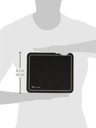 9 x 7-3//4 Nonskid Base KCS81106 Kelly Computer Supply SRV Optical Mouse Pad Black