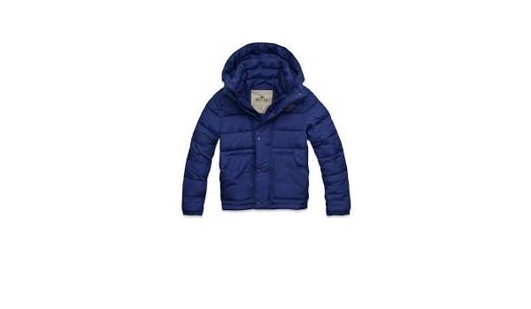 Hollister abrigos de hombre azul UK tamaño grande: Amazon.es: Ropa y accesorios