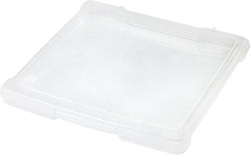 IRIS 12 x 12 Slim Portable Project Case, Clear