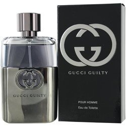 GUCCI GUILTY POUR HOMME by Gucci - MEN - EDT SPRAY 1.6 - Gucci Transparent
