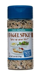 Bagel Spice - With Sea Salt Flakes - Net Wt 2.6 oz