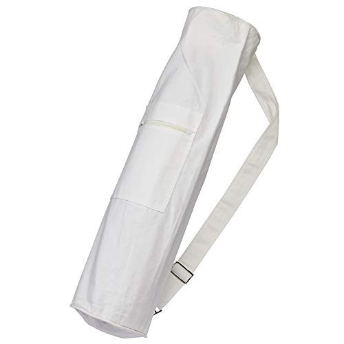 Bolsa para alfombrilla de yoga (algodón sol Living, algodón ligero de yoga mat Carrier Bolsa de eslinga de algodón bolsa...