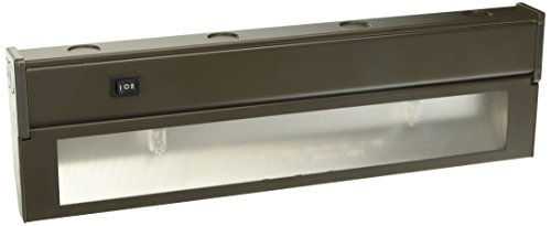 (American Lighting LXC2H-DB Hardwire Xenon Under Cabinet Light, 40-watt, High/Low Switch, 120-volt, 16-Inch, Bronze)