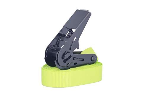verde oliva o amarillo ne/ón 4/Correas de amarre con trinquetes trinquetes negros de alta calidad de 4/m /ó 6/m en negro duraderas rojo