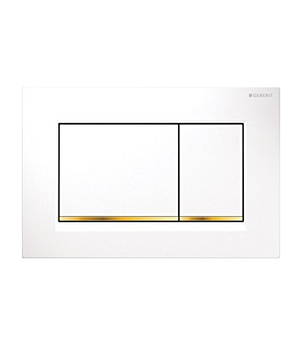 Geberit 115.883.KK.1 act pl Typ 30 dual pl w/gold-plated/w