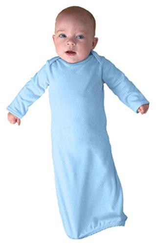 DRI DUCK Short Sleeve Fishing Shirt, Light Blue, Newborn
