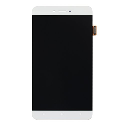 For BLU Vivo 5 V0050UU LCD Digitizer Replacement HYYT New LCD display + Touch Screen Digitizer Full of assembly (white) by HYYT (Image #4)