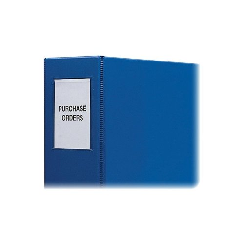 C - 라인 자체 접착 바인더 라벨 - 자체 접착 바인더 라벨, 바인더 2 개, PK 12 개, 클리어 25 개/Wholesale CASE of 25 - C-Line Self-Adhesive Binder Labels -Self Adhesive Binder Labels, 2  Binder, 12 PK, Clear