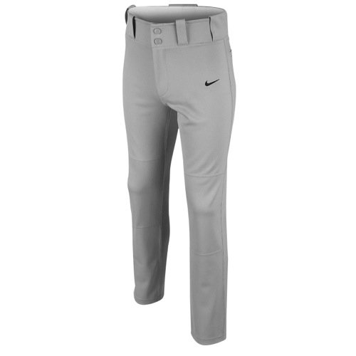 Nike Boy's Core Dri-fit Open Hem Baseball Pant Blue Grey/Black Size Large
