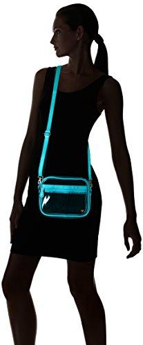 Bag Stephanie Camera Johnson White Crossbody Miami Blue Women's wwRBPzq7X