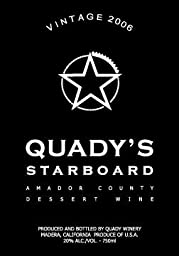 2006 Quady Starboard Vintage Red Blend Dessert Wine 750 mL