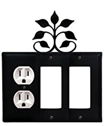 Eogg-109 Leaf Fan Outlet Gfi Gfi Electric Cover