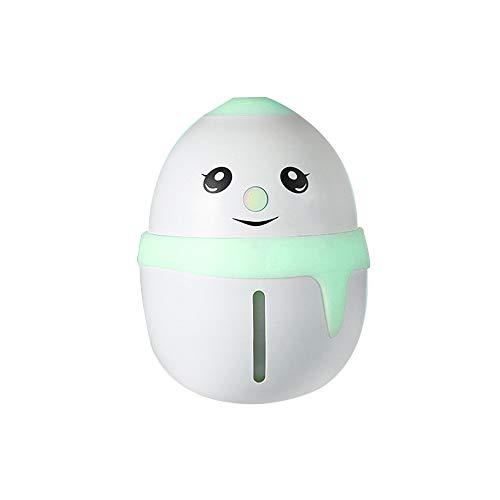 Price comparison product image Alimao USB LED Night Light Humidifier Car Atomizer Desktop Mini Humidifier 180ML Green