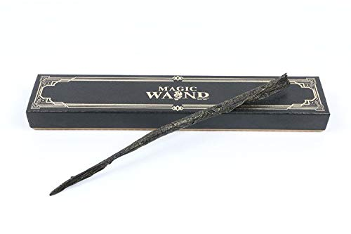 Cultured Customs Magical Wand Replica: Dark Wizard - Cosplay Prop Collectible + Bonus Trading Card by Cultured Customs