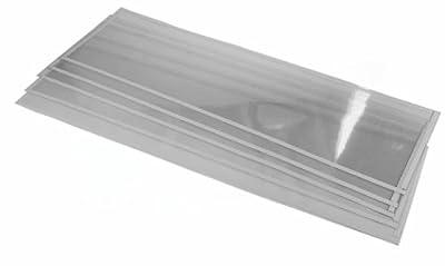 (5) Sand Blaster Light Window Films fits 260 Gallon Sandblast Cabinet