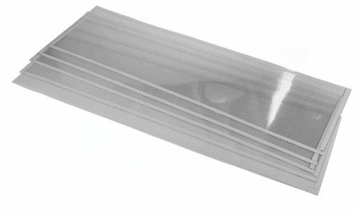 (5) Sand Blaster Light Window Films fits 260 Gallon Sandblast Cabinet by Steel Dragon Tools
