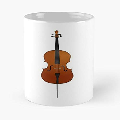 Violin Bass Celo Bassoon - Handmade Funny 11oz Mug Best Holidays Gifts For Men Women ()