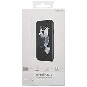 Moshi 99MO076014 Screen Protector for AirFoil Glass iPhone X, Clear