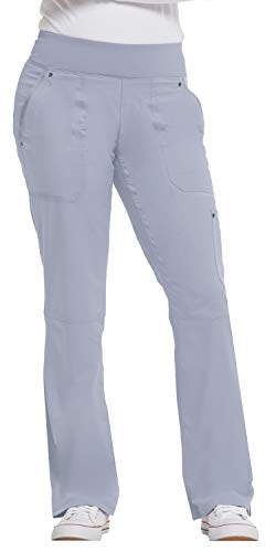 healing hands Purple Label Yoga Women's Tori 9133 5 Pocket Knit Waist Pant Grey-X-Large (Rayon Knit Pant)