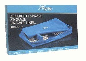 Zippered Flatware Drawer Liner - 3