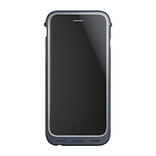 SanDisk iXpand 32GB Memory Case for iPhone 6/6s - Retail Packaging - Grey