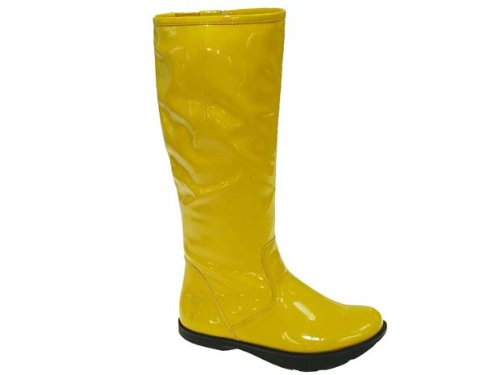 Earth Womens Fashion Mid Calf Boots Size 5 M ELITEYL Elite Yellow Synthetic
