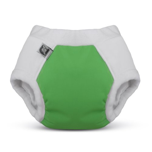 Cotton Nighttime Undies (Size 2 (4-6 yrs), Green)