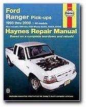 - Ford Ranger Pick-ups 1993 thru 2011: 1993 thru 2011 all models - Also includes 1994 thru 2009 Mazda B2300, B2500, B3000, B4000 (Haynes Repair Manual) by Haynes Manuals, Editors of Published by Haynes Manuals, Inc. 1st (first) edition (2013) Paperback