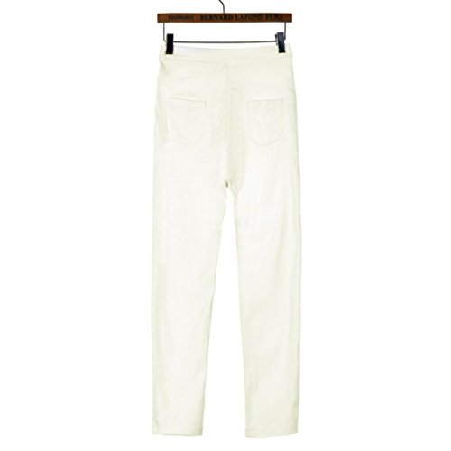 Femmes Dentelle Beige Court en Multicolore Taille Jeans Familizo Jeans Haute Jeans Femme gvq1x7w5