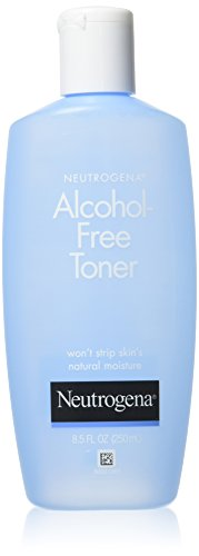 Neutrogena Oil- and Alcohol-Free Facial Toner, with Hypoallergenic Formula, 8.5 fl. oz (Pack of 2)