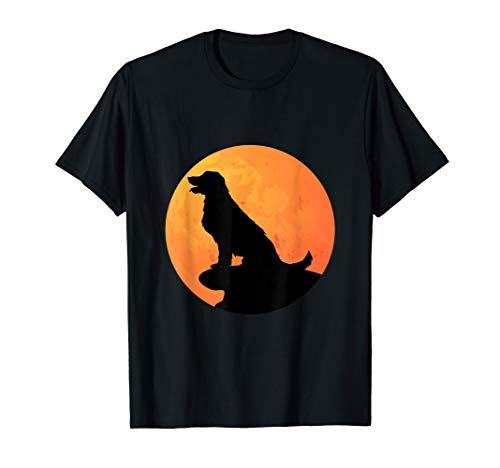 Golden Retriever Halloween Costume Dog Owner T-Shirt ()