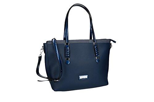 Borsa donna a spalla con tracolla PIERRE CARDIN blu con apertura zip VN1884 Con Precios Más Bajos Paypal Fechas De Lanzamiento Nueva Llegada En Línea YUez0t