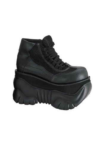 Pleaser Men's Boxer-01 Fashion Sneaker,Black,5 M (Best Pleaser Mens Sneakers)