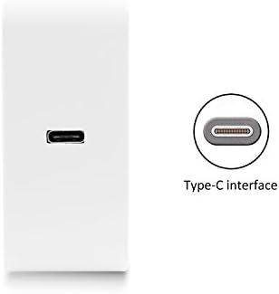 MacBook macker Top 65/W para USB C Type C Cargador Nuevo MacBook Pro Google Chromebook Pixel y Microsoft Lumia 950/ 13/pulgadas 2/metros Cable Incluido