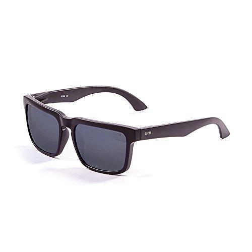 Ahumada Bomb Talla Gafas Blanco Unisex mate Negro Ocean Color Sunglasses Sol Negro de única gOxHBx