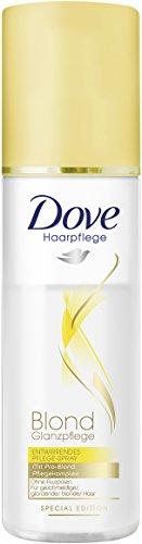Dove Haarpflege Entwirrendes Pflegespray Blond Glanzpflege, 3er Pack (3 x 200 ml)