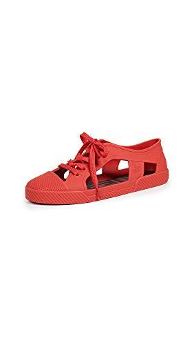 melissa Women's x Vivienne Westwood Brighton Sneakers, Red, 8 Medium US