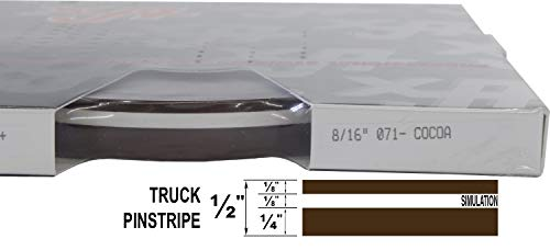 (Universal TFX 0008071- Auto Truck Customizing Dual Pinstripe - 8/16