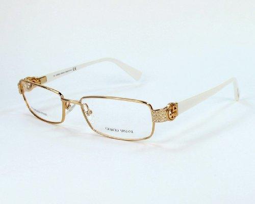Giorgio Armani frame GA 549 OLC Metal - Acetate - Rhinestones Gold - - Armani Ga