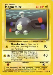 - Magnemite - 53/102 - Common - Unlimited Edition - Base Set