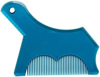 tlfyajj Peine Styling barba, afeitadora guía A Los modelos de ...