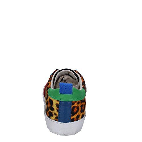 D.A.T.E. Date Sneakers Mujer 37 EU Multicolor Textil Cuero