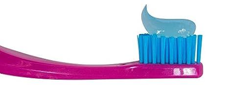 Cepillo de dientes para niños cerdas antibacterianas PRO-SYS (paquete de 4 colores) - Hecho con cerdas Soft DuPont Tynex (Edades 8-12, para niños pequeños) ...