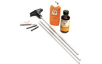 Hoppe's No. 9 Cleaning Kit with Steel Rod, 17 HMR, .17/.204 Caliber Rifle